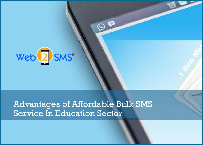 Bulk Sms Service For education