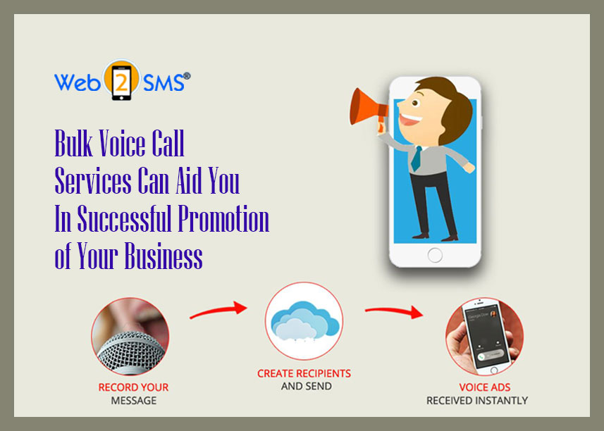 Bulk voice call services