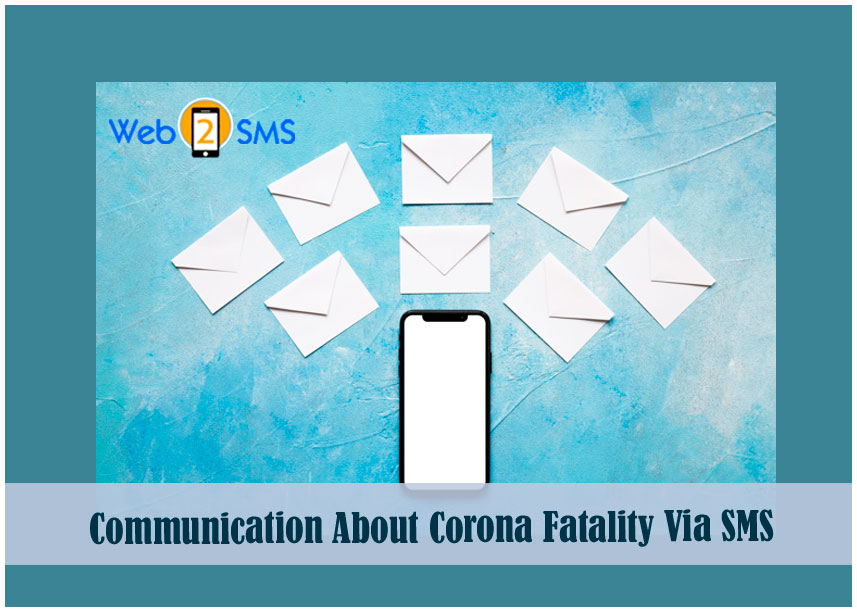 Covid 19 fatality via Sms